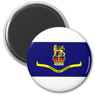 Papua New Guinea Governor General Flag 2 Inch Round Magnet