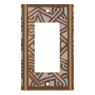 Papua New Guinea Light Switch, Single Rocker Light Switch Cover
