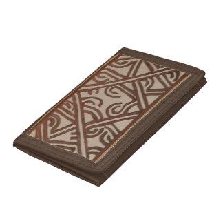 Papua New Guinea Men's Tri-fold wallet