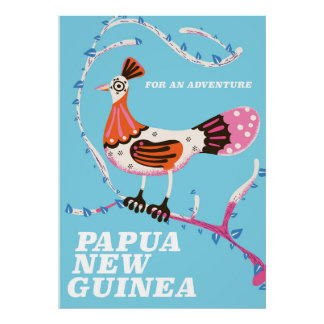 Papua New Guinea Travel poster