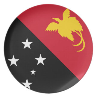 Papua New Guinean Flag Plate