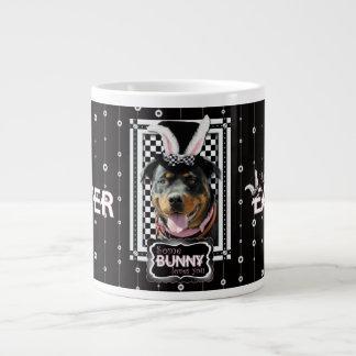 Pâques - un certain lapin vous aime - rottweiler mug jumbo