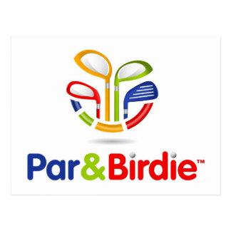 Par&Birdie Paper Products Postcards