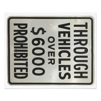 par des véhicules interdits tirage photo