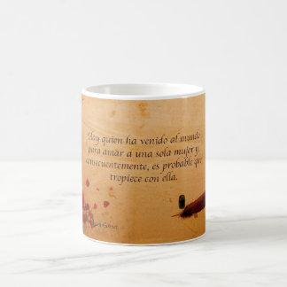 Para amar una sola mujer coffee mug