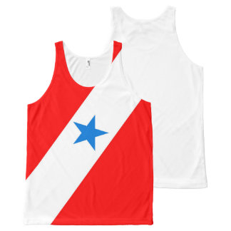 Para Brazil flag province region symbol All-Over-Print Tank Top