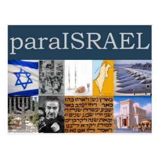 Para Israel Postcard