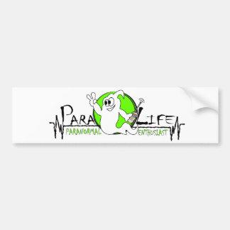 Para-life bumper sticker