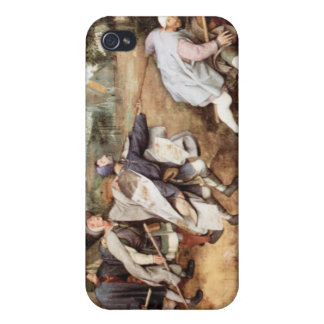 Parabal of the blind men by Pieter Bruegel iPhone 4/4S Covers