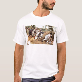 Parabal of the blind men by Pieter Bruegel T-Shirt