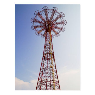 Parachute Jump - Coney Island, NYC postcard