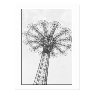 Parachute Jump Tower (Coney Is., NY) postcard