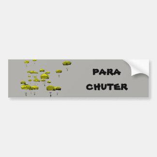 Parachuter Just Jump Bumper Sticker