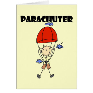 Parachuter Tshirts and Gifts Card