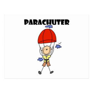 Parachuter Tshirts and Gifts Postcard
