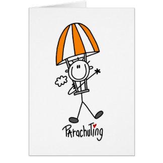 Parachuting Card