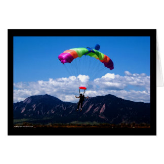 Parachuting Card