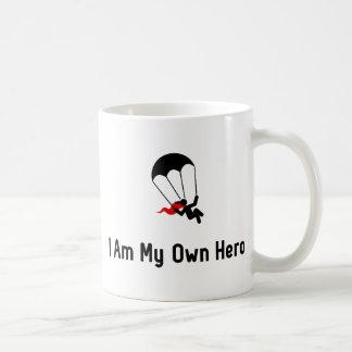 Parachuting Hero Coffee Mug