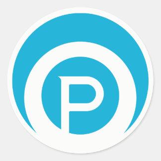Paracosms Logo Sticker