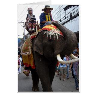 Parade Elephant Card