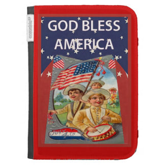 Parade for the 4th of July Kindle Case