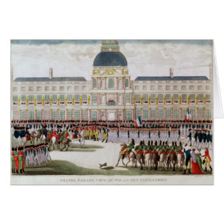 Parade in the Courtyard Card