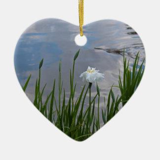 Paradigm Shift Ceramic Heart Ornament