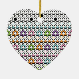 Paradigm Suns Ceramic Heart Ornament
