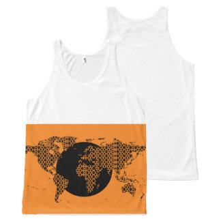 Paradigm World Map - Orange