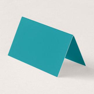 Paradingly Posh Teal Colour Business Card