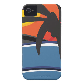 Paradise 01 iPhone 4 case