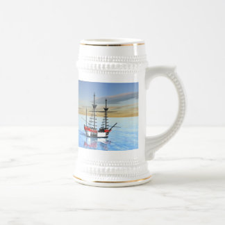 Paradise Bay Beer Stein