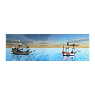 Paradise Bay Canvas Print