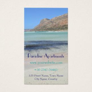 Paradise Beach Business Card