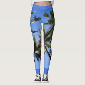 Paradise Blues Leggings