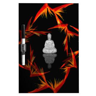 Paradise Buddha Dry Erase Board