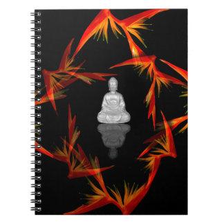 Paradise Buddha Spiral Notebook