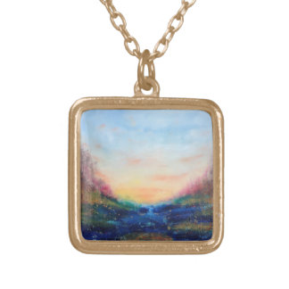 Paradise Cove Gold Plated Necklace