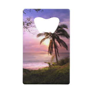 Paradise Credit Card Bottle Opener