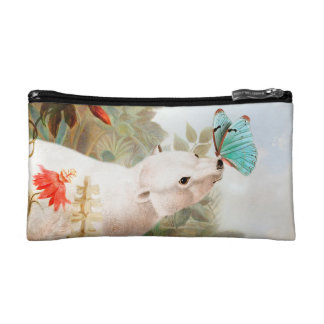 Paradise draws makeup bag
