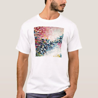 PARADISE DREAMS Colorful Abstract Painting T-Shirt