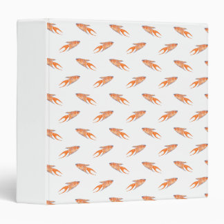 Paradise Fish Pattern. Vinyl Binder