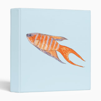 Paradise Fish, Watercolor. Binders