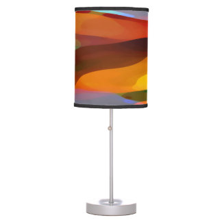 Paradise Found Abstract Art Table Lamp