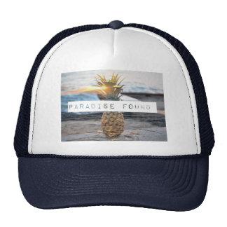 PARADISE FOUND SNAPBACK HAT