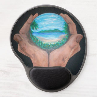 Paradise Gel Mouse Pad