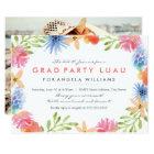 Paradise Grad Luau Invite