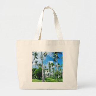 Paradise in the Pacific Large Tote Bag