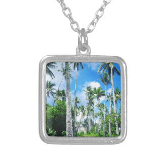 Paradise in the Pacific Silver Plated Necklace