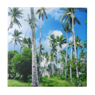 Paradise in the Pacific Tile
